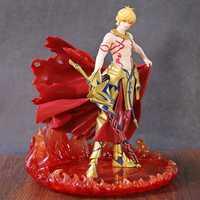 FGO Fate gran orden figura Caster Archer Gilgamesh 1/8 escala pintada PVC acción figura Anime estatua juguetes de modelos de colección