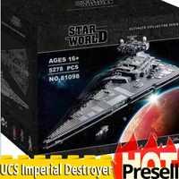 81098 ultime collection série 5278 pièces Max impérial étoile destructeur vaisseau spatial blocs de construction brique legoinglys Star Wars 75252