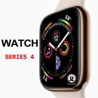 Étui de montre intelligent apple, 50% de réduction, série de montre intelligente, 4, étui pour apple, 5 6 7, écran de fréquence cardiaque Android (podomor)