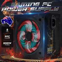 800W Gaming PC alimentation PFC silencieux ventilateur ATX 20 + 4pin 12V ordinateur SATA Gaming PC alimentation pour ordinateur Intel AMD