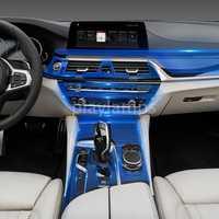 Pegatinas de TPU para BMW G30 G38 5 series 528Li 530li 540 transparente TPU película protectora pegatinas para BMW accesorios interiores