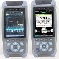 Pro mini réflectomètre optique de Fiber d'otdr 980rev avec 9 fonctions carte 24dB d'événement d'opm d'ols de VFL pour l'appareil de contrôle d'ethernet de câble de Fiber de 64km