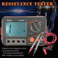 Digital probador de resistencia de aislamiento Megger MegOhm Metro 250V 500V 1000V HVR88