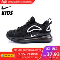 NIKE AIR MAX 720 chaussures enfants Original nouveauté enfants chaussures de course léger en plein AIR sport baskets #849558