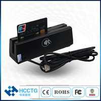 MSR + RFID + puce IC/PC/NFC smart EMV puce lecteur de carte de crédit + tous les 3 pistes lecteur de carte magnétique dispositif POS système HCC110