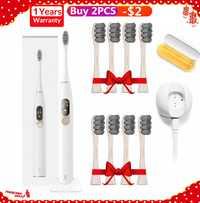Oclean X brosse à dents électrique sonique améliorée imperméable à l'eau Ultra sonique Oclean X brosse à dents USB Rechargeable brosse à dents pour femmes hommes