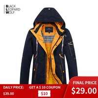 Blackleopardwolf 2019 nouveauté printemps veste hommes épais coton de haute qualité avec une capuche doudoune pour printemps ZC-027