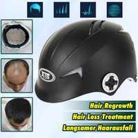 64 diodos láser gorra para el tratamiento de la pérdida de cabello Promoción del crecimiento del cabello tapa de fibra de construcción