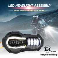 Nouveauté! projecteur de phares de Moto LED pour BMW R1200GS 2004-2012 R 1200GS ADV Adventure 2005-2013