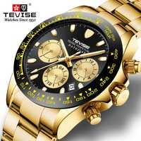 Reloj para hombre, reloj de negocios de lujo, reloj mecánico con fecha, reloj automático para hombre, reloj Masculino t838a, reloj Masculino