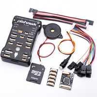Pixhawk 2.4.8 PX4 PIX 32 Bit controlador de vuelo piloto automático con 4G SD interruptor de seguridad zumbador PPM I2C para RC Quadcopter