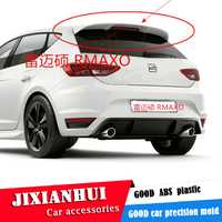 Becquet arrière de voiture pour Volkswagen   Pour siège LEON, Spoiler 2008-2018, siège LEON, ACS, matériau ABS, aile arrière, couleur de la voiture