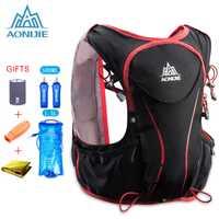AONIJIE 5L femmes hommes Marathon hydratation gilet Pack sac d'eau courante cyclisme randonnée sac de plein air Sport léger sac de course