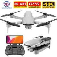 SHAREFUNBAY F3 drone gps 4K 5G WiFi vidéo en direct FPV quadrotor vol 25 minutes rc distance 500m drone HD grand angle double caméra