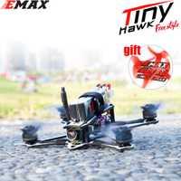 EMAX Tinyhawk Freestyle 115mm 2.5 pouces F4 5A ESC FPV course Drone RC BNF Version Frsky Compatible FPV Drone