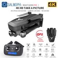 SG906 / SG906 Pro GPS Drone avec Wifi FPV 4K HD caméra deux axes anti-secousse auto-stabilisant cardan sans brosse quadrirotor Dron