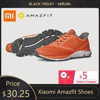 En Stock Xiaomi Amazfit chaussures antilope chaussures intelligentes léger Sports de plein air baskets en caoutchouc semelle Support puce intelligente Pk Mijia 2