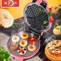 1 pieza TS-19 multi-función de horno eléctrico olla menaje waffle máquina de rollo de huevo puede ser cambiado a hornear pan