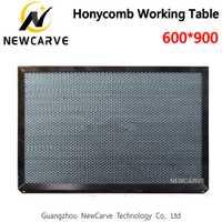 Mesa de trabajo de panal de 600x900 MM para máquina de corte láser CO2 piezas de máquina de equipo láser NEWCARVE