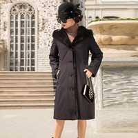 Abrigo de piel Natural de lujo de visón, Chaqueta de invierno para Mujer, Parka de piel auténtica, ropa para Mujer, abrigos largos con capucha 2020, Chaqueta para Mujer MY s