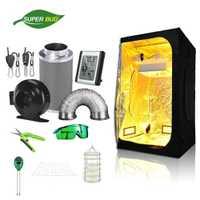 SuperBud cultiver la salle de tente Kit complet système de culture hydroponique système de contrôle des odeurs de Ventilation d'air 4
