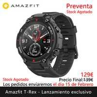 La prévente de lancement exclusive Amazfit T-REX sera expédiée les jours 15 février montre intelligente sports en plein air [Version mondiale]