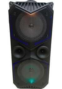 BT haut-parleur BT-1819 USB Bluetooth Combo haut-parleur amplificateur son Subwoofer rue valise Microphone acoustique FM