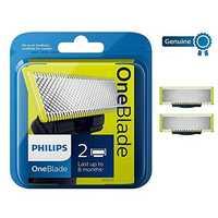 Tête de lame remplaçable Philips OneBlade-100% Orijinal-2 lames fabriquées aux pays-bas
