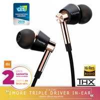 -Plaza Garantía- 1More AURICULARES TRIPLE driver in ear E1001 Auriculares universales de 3,5mm (producto del ecosistema xiaomi)