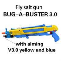 Pistola de sal Creative bug un sel Pistolet Sel Poivre Balles Blaster Airsoft pour Bug Soufflette Moustique Modèle Jouet gunChristmas cadeau