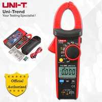 UNI-T UT216A/UT216B/UT216C/UT216D 600A Digital de verdadero valor eficaz (RMS) de la abrazadera de metros; amperímetro Digital... resistencia/condensador/frecuencia/NCV prueba