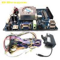 Pandora es 3D clave Max juego de Arcade consola placa base 1688 en 1 VGA HDMI Salida de Casa PCB junta con adaptador de corriente