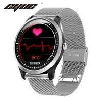 CYUC N58 ECG PPG smart watch con electrocardiograph ecg pantalla holter ecg monitor de ritmo cardíaco sangre presión smartwatch