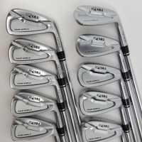 Los clubes de Golf golf hierro HONMA Tour mundo TW737p de hierro Grupo 4-10 W (10 unids) Color plata