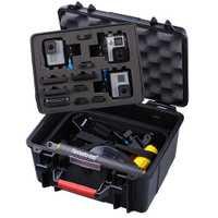 Smatree GA700-3 caja dura impermeable para Gopro Hero 7/6/5/4/3 + ¡funda para cámara de acción Xiaomi Yi 4 K/SJCAM