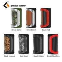 Original 100 W GeekVape auspicios TC caja MOD impermeable a prueba de golpes a prueba de polvo fit 18650/26650 batería cigarrillo electrónico del Drag 2