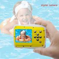 HD pantalla LCD Mini cámara regalo de los niños bajo el agua foto Super resistente al agua Anti Shock cámara Digital para la natación