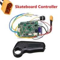 Mini télécommande unique moteur électrique planche à roulettes de longboard contrôleur ESC Substitut Pour Planche À Roulettes Électrique Longboard