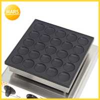 No-stick Poffertjes parrilla holandés de placas de hierro para Mini máquina de tortitas