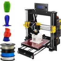 2019 actualizado de calidad completa de alta precisión Reprap Prusa i3 DIY 3D impresora MK8 LCD reanudar falla de energía de impresión