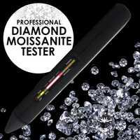 Equipo de herramientas de identificación de joyería de prueba de Gema Combo de piedras preciosas de diamante Moisanite Tester