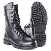 Demiseason cuir véritable noir bottines hommes chaussures hautes bottes militaires plates 0049 \ 11WA