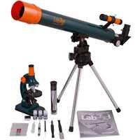 Ensemble Levenhuk LabZZ MT2 microscope et télescope