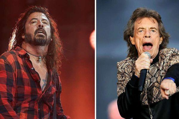 Mick Jagger singt sich mit Dave Grohl aus dem Lockdown