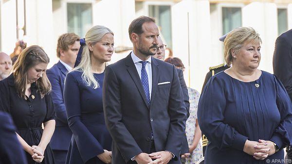 Gedenken an Opfer der Terroranschläge in Norwegen begonnen
