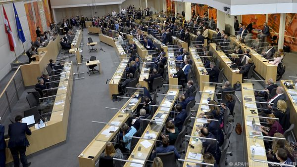 Budgetdebatte im Nationalrat - mit Kurz als ÖVP-Klubchef