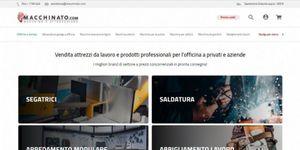 Su Macchinato.com tutto quello che serve a officine meccaniche, aziende e privati