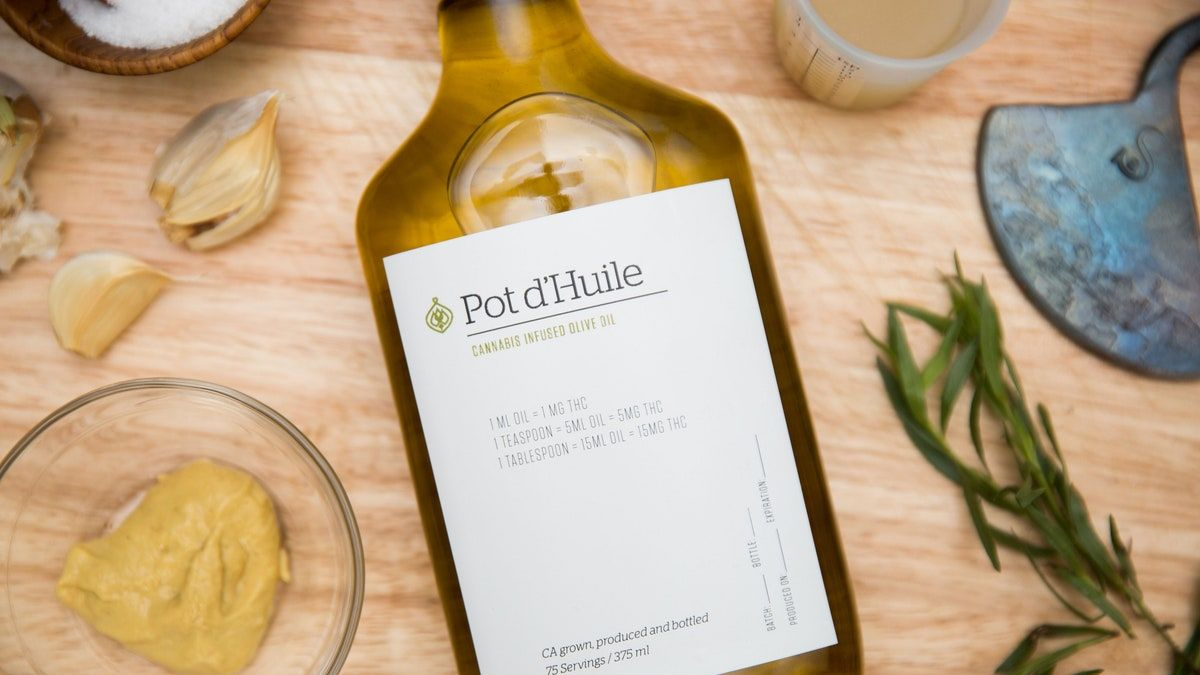 Weed-Infused Olive Oil Means Vinaigrettes Will Be a Lot More Exciting