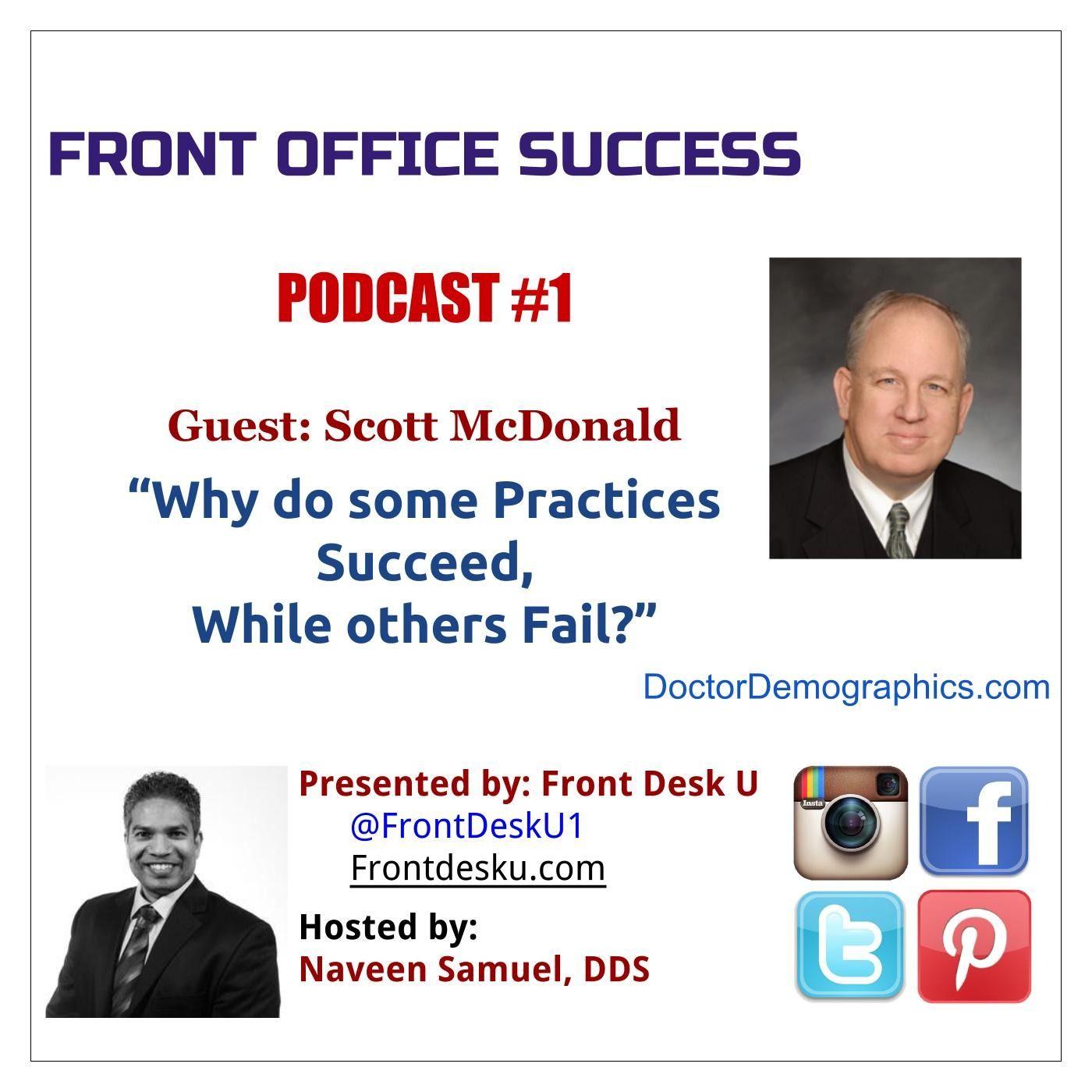 Front Office Success - Podcast #1 - Scott McDonald