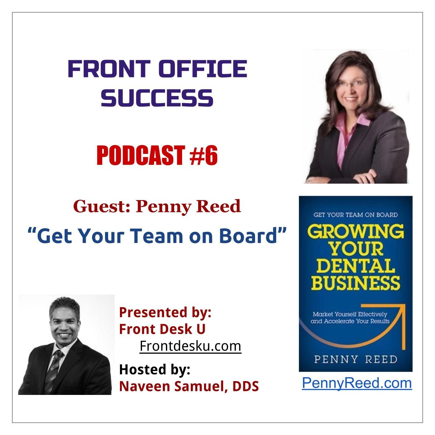Front Office Success - Podcast #6 - Penny Reed
